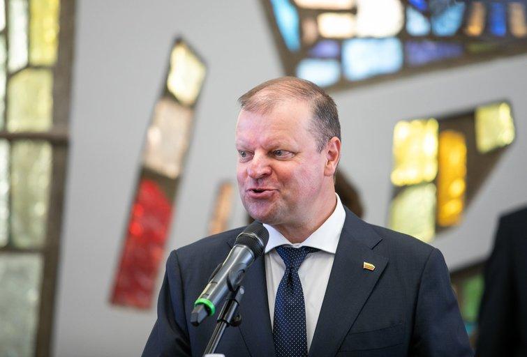 """Atsiskyrę S. Skvernelio rėmėjai susibūrė į naują frakciją """"Vardan Lietuvos"""" (Irmantas Gelūnas/Fotobankas)"""