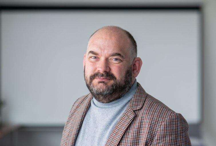 Kibernetinio saugumo specialistas Marius Pareščius (nuotr. Fotodiena/Justino Auškelio)