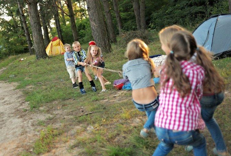 Vaikų vasaros stovykla (nuotr. Shutterstock.com)