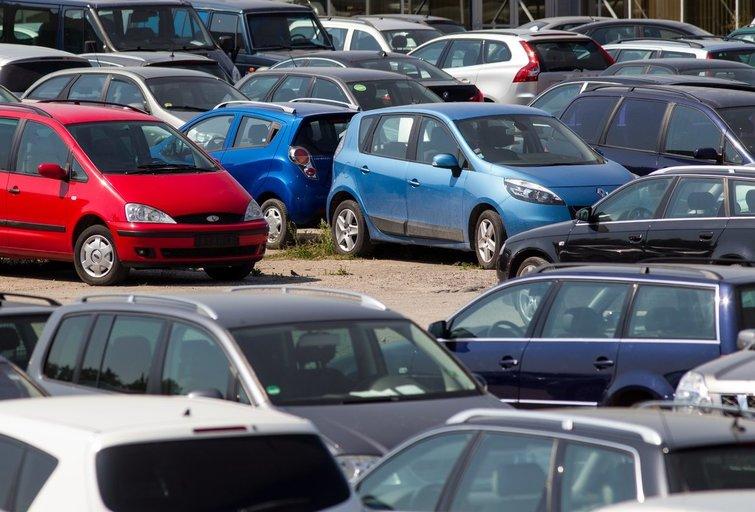 Automobilių turgus (Kęstutis Vanagas/Fotobankas)