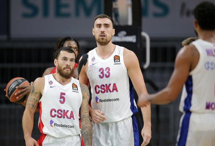 CSKA iškovojo pergalę (nuotr. Twitter)