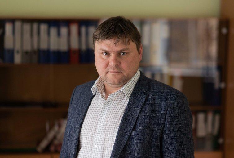 Egidijus Milešinas (nuotr. Fotodiena/Justino Auškelio)