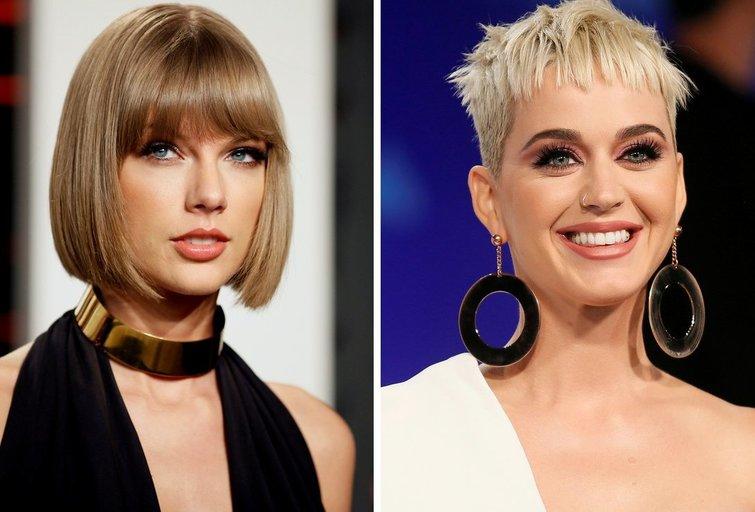 Taylor Swift ir Katy Perry (nuotr. SCANPIX)