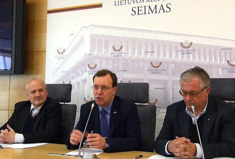 Spaudos konferencija (nuotr. Organizatorių)