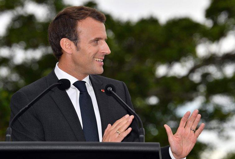 """Prancūzijos prezidentas australų premjero žmoną pavadino """"skania"""" (nuotr. SCANPIX)"""