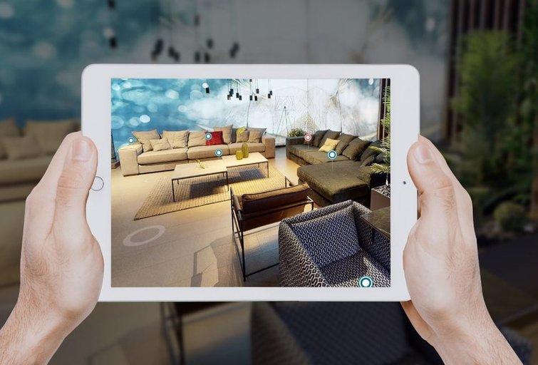 """Virtualus """"Magrės baldų"""" salonas"""