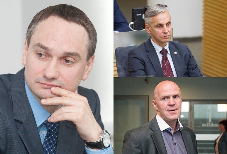 M. Balčiūnas, P. Urbšys, G. Černiauskas (Fotobankas)