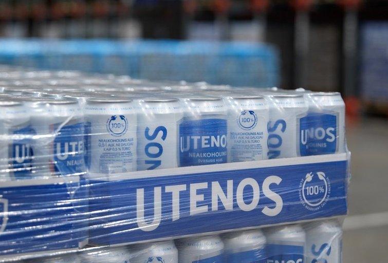 """""""Utenos"""" nealkoholinis alus (nuotr. Organizatorių)"""