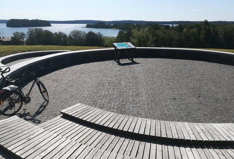 Platelių ežero apžvalginė aikštelė. Rovenos Augustinės nuotr.