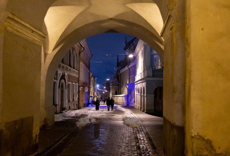 Karantinas sausį Vilniuje (nuotr. Broniaus Jablonsko)