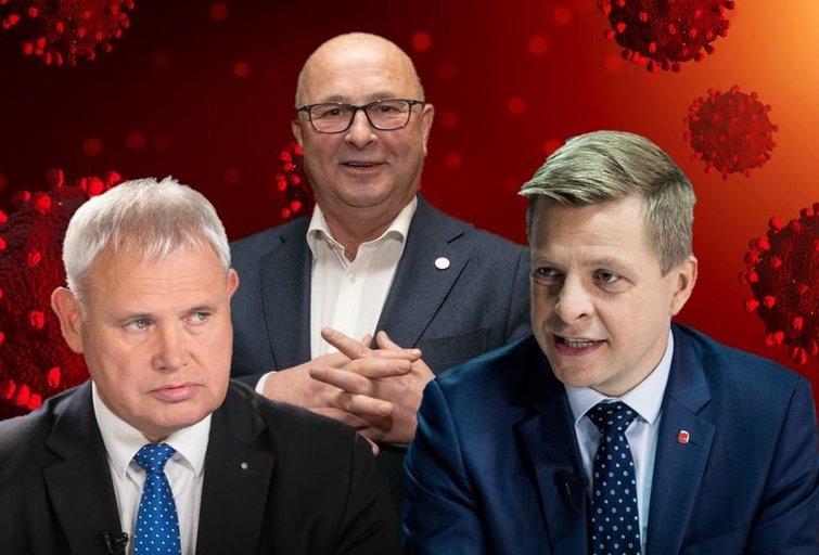 Visvaldas Matijošaitis, Remigijus Šimašius, Vytautas Grubliauskas (tv3.lt fotomontažas)