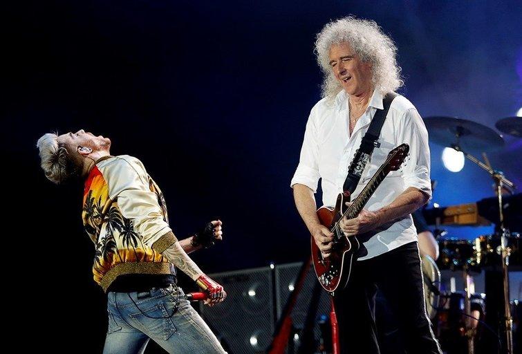 """Adamas Lambertas ir """"Queen"""" (nuotr. Organizatorių)"""