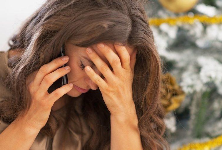 Liūdna moteris (nuotr. 123rf.com, asociatyvi nuotr.)