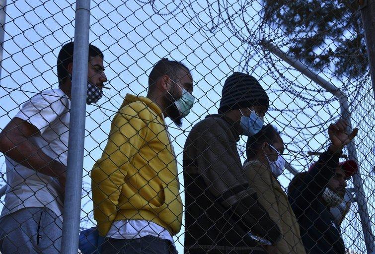 Migrantų stovykla Graikijoje (nuotr. SCANPIX)