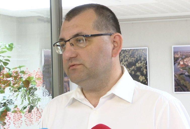 V. Kasiulevičius (nuotr. stop kadras)