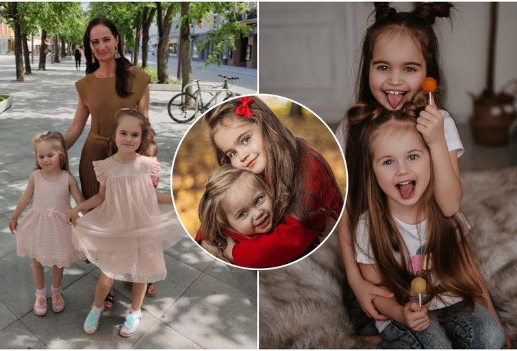 Vilniečių šeimoje auga dvi talentingos dukros (tv3.lt fotomontažas)
