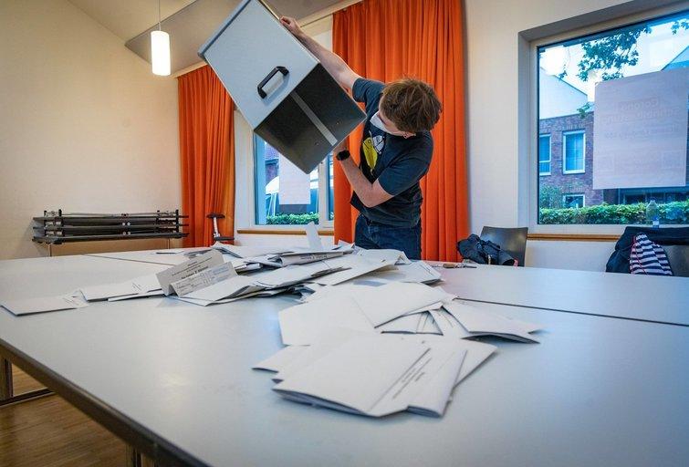 Rinkimai Vokietijoje (nuotr. SCANPIX)