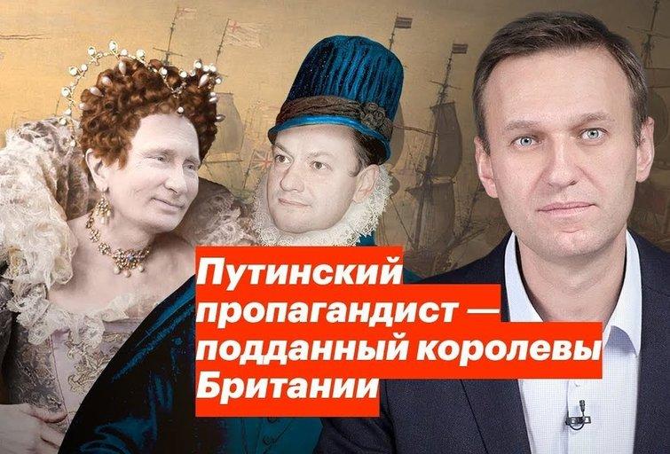 Tyrimas atskleidė, kodėl apsimoka dirbti Rusijos televizijos naujienų vedėju (nuotr. YouTube)