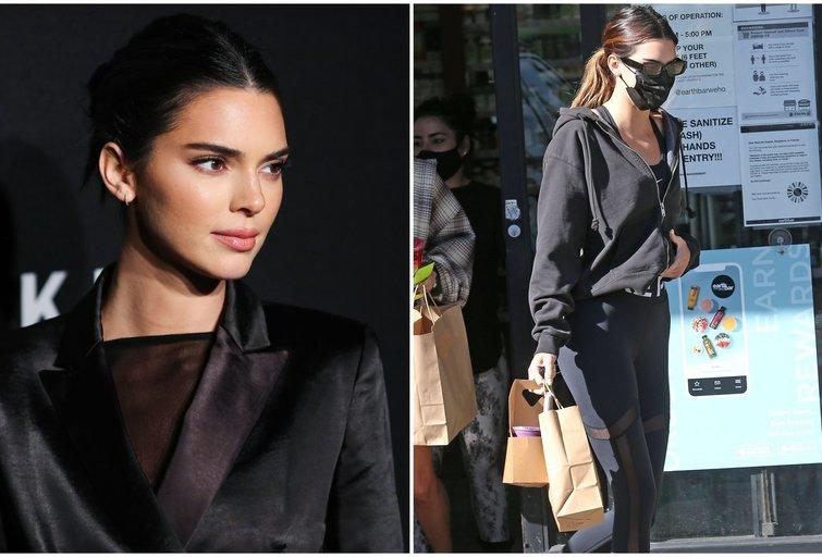 Kendall Jenner (tv3.lt fotomontažas)
