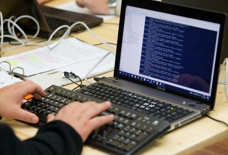 Kibernetinė ataka. Asociatyvi Karolis Kavolėlis/Fotobankas nuotr.