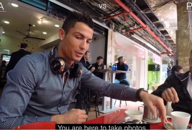 Cristiano Ronaldo (nuotr. YouTube)