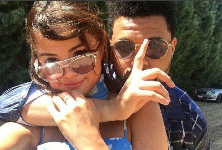 Selena Gomez ir The Weeknd (nuotr. Instagram)