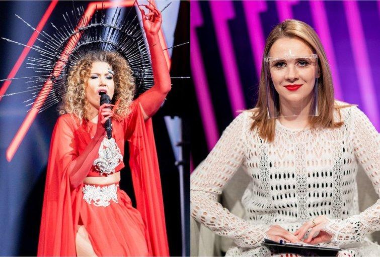 Indrė Launikonytė ir Ieva Narkutė (tv3.lt fotomontažas)