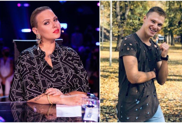 Justė Arlauskaitė-Jazzu ir Justinas Mejeris (tv3.lt fotomontažas)
