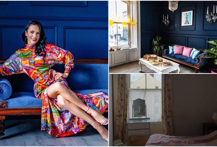 Airijoje gyvenanti Simona negyvenamą butą pavertė ekstravagantiška fotografijos studija (tv3.lt fotomontažas)