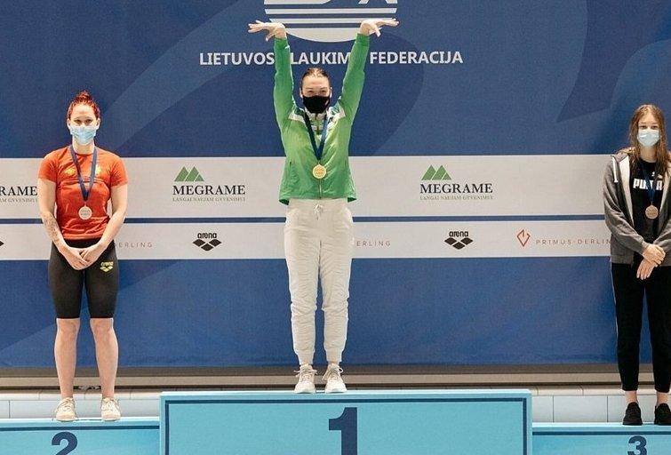 Klaipėdoje tęsiasi plaukimo čempionatas (nuotr. ltuswimming.com)