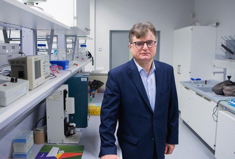 Vilniaus universiteto Gyvybės mokslų centro direktorius Gintaras Valinčius (nuotr. Fotodiena/Justino Auškelio)