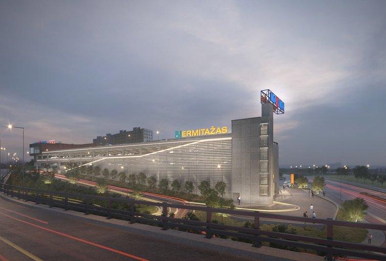 Naujasis prekybos centras Vilniuje (bendr. nuotr.)