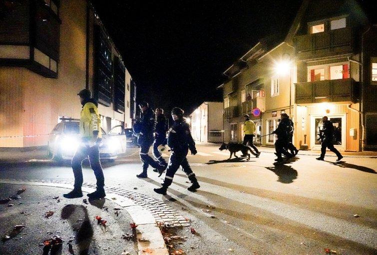 Išpuolis Norvegijoje – į žmones pradėjo šaudyti iš lanko  (nuotr. SCANPIX)