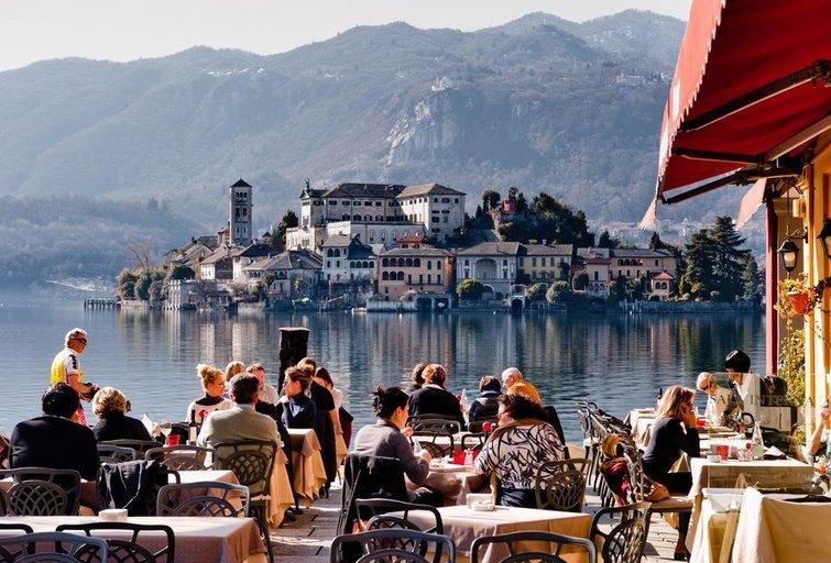 Restoranas Italijoje (nuotr. Shutterstock.com)
