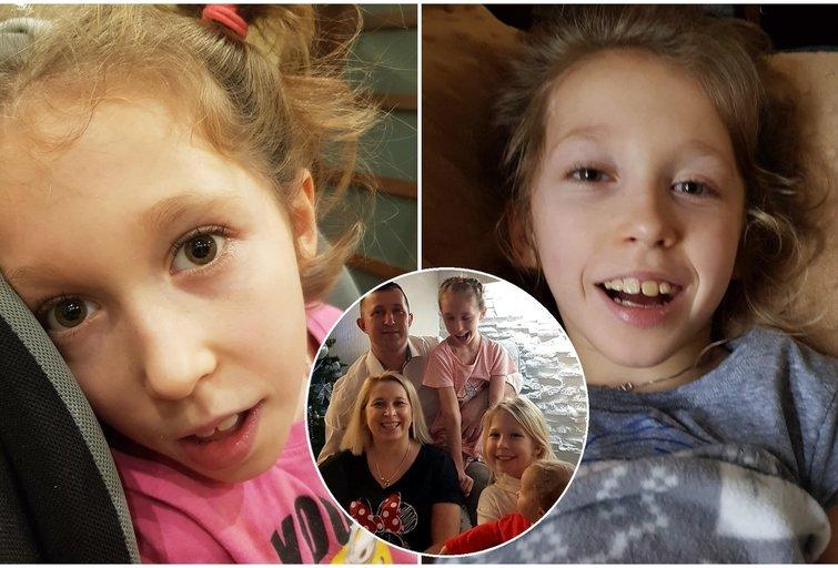 12-metė Gabija nevaikšto ir nekalba (tv3.lt fotomontažas)