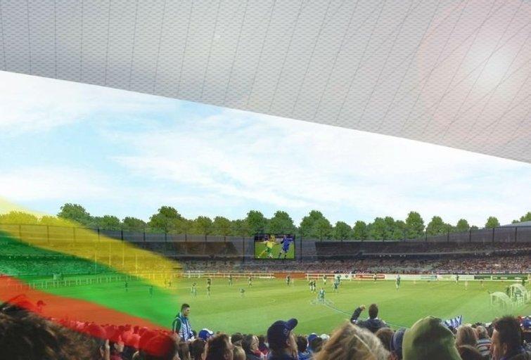 Lietuva greičiau nei už 2 metų turės naują stadioną (nuotr. Organizatorių)
