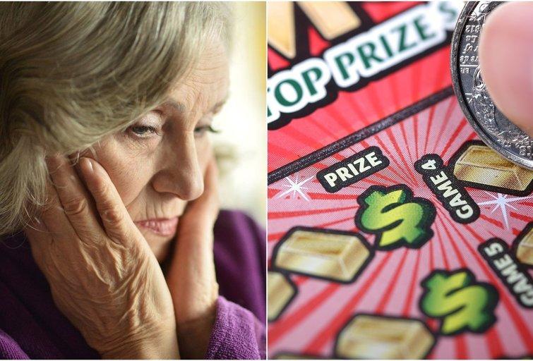 500 tūkst. loterijoje laimėjusios moters laimė truko neilgai: pardavėjas spruko pavogęs bilietą