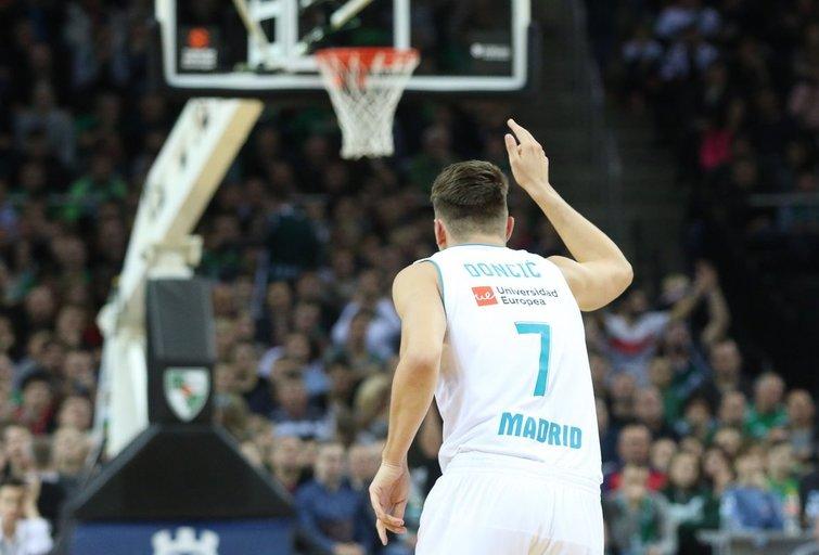 Luka Dončičius (nuotr. Fotodiena.lt/Roko Lukoševičiaus)