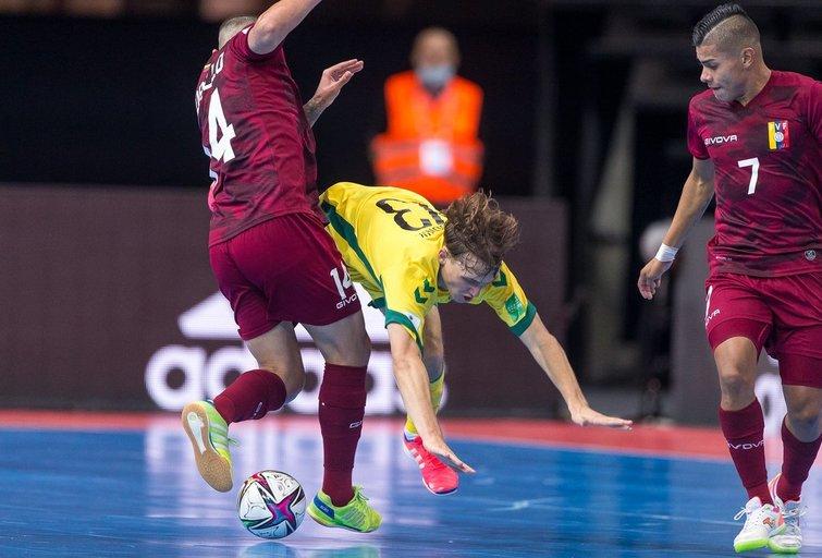 Pasaulio salės futbolo čempionatas: Lietuva – Venesuela (nuotr. LFF.lt)