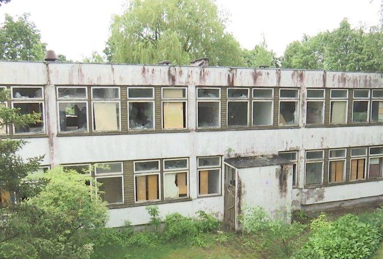 Apleistas pastatas. Asociatyvi nuotrauka (nuotr. TV3)