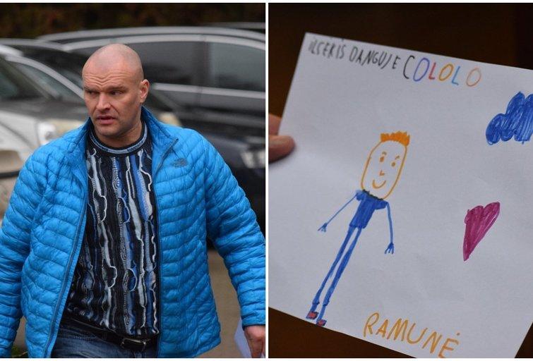 Ramūnas Vyšniauskas atsisveikina su Cololo (nuotr. tv3.lt)