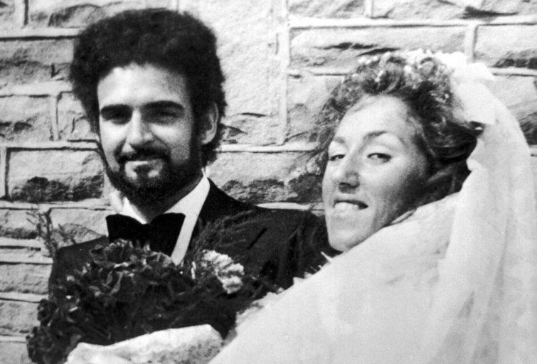 Peteris Sutcliffe'as su žmona Sonia (nuotr. Vida Press)