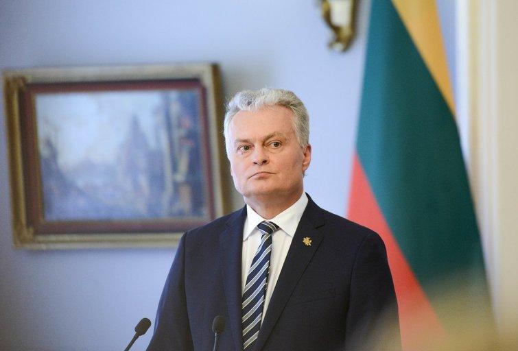 Prezidentas Gitanas Nausėda (nuotr. Fotodiena/Justino Auškelio)