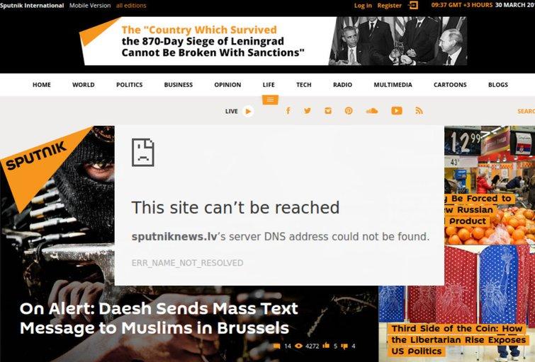Latviai rėžė iš peties: uždraudė Rusijos propagandos įrankį (nuotr. Gamintojo)