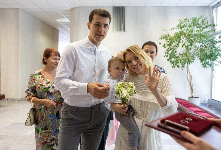 Simonas Storpirštis vedė mylimąją Indrę (Greta Skaraitienė/Fotobankas)