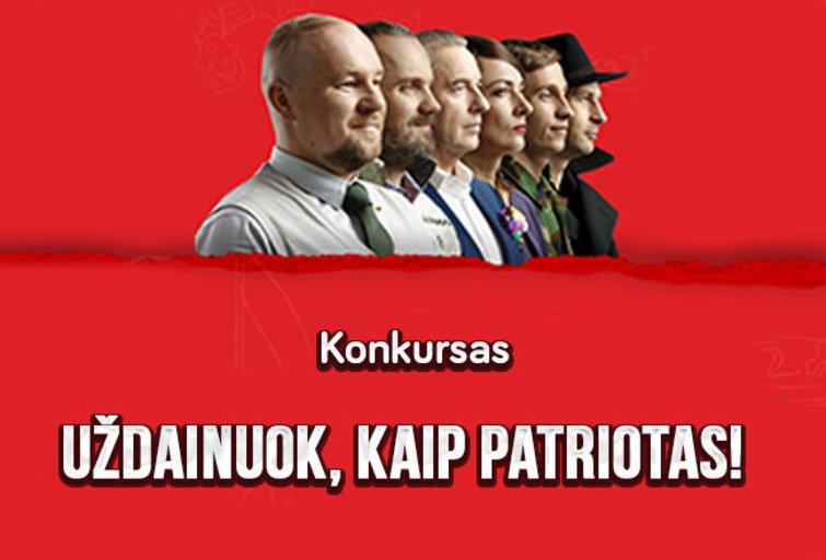 Uždainuok, kaip patriotas! (nuotr. TV3)