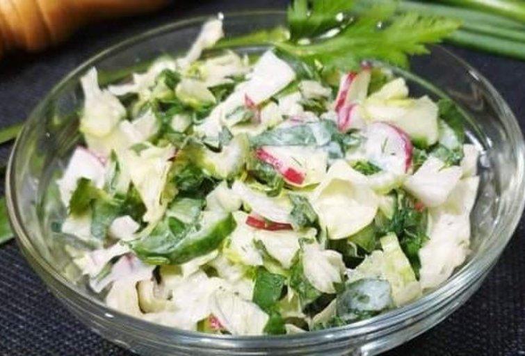 Gaivios salotos pagal Audronę (nuotr. gamink su Audrone)