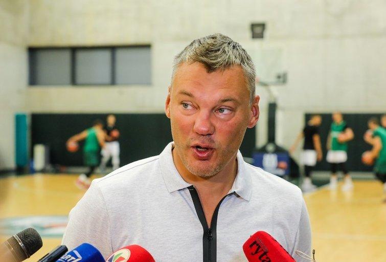 Š. Jasikevičius (Teodoras Biliūnas/Fotobankas)