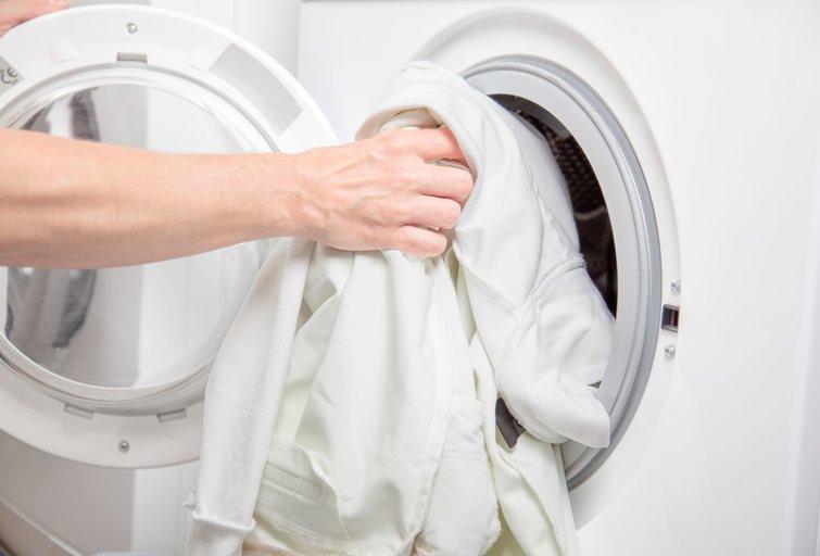 Balti skalbiniai (nuotr. 123rf.com)