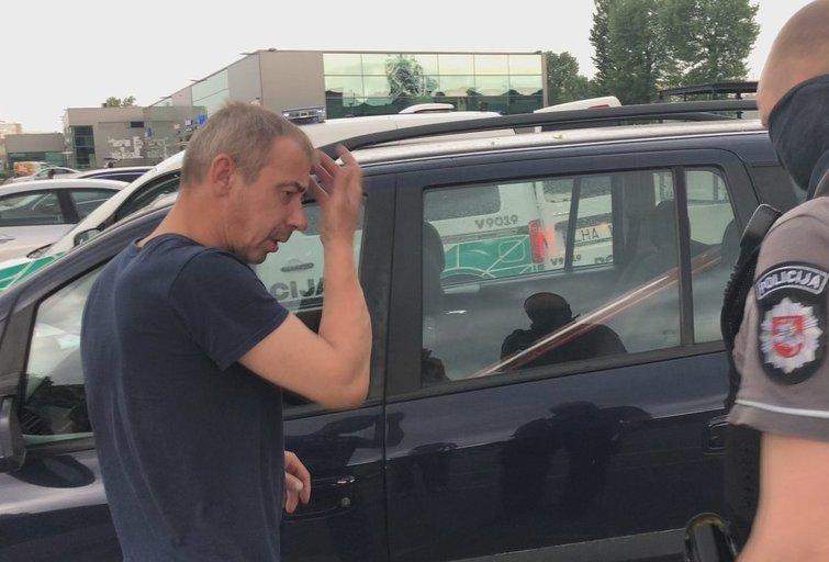 Opelio vairuotojas įpūtė kone 4 promiles (nuotr. TV3)